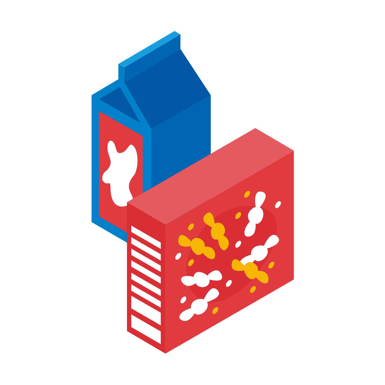 牛乳パック・お菓子の箱