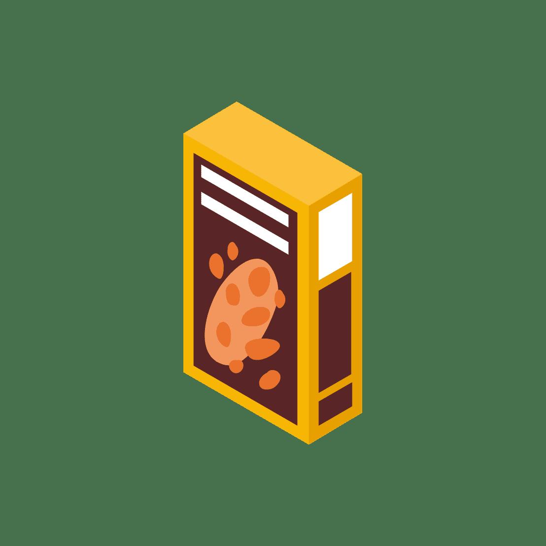食品の外装(箱)