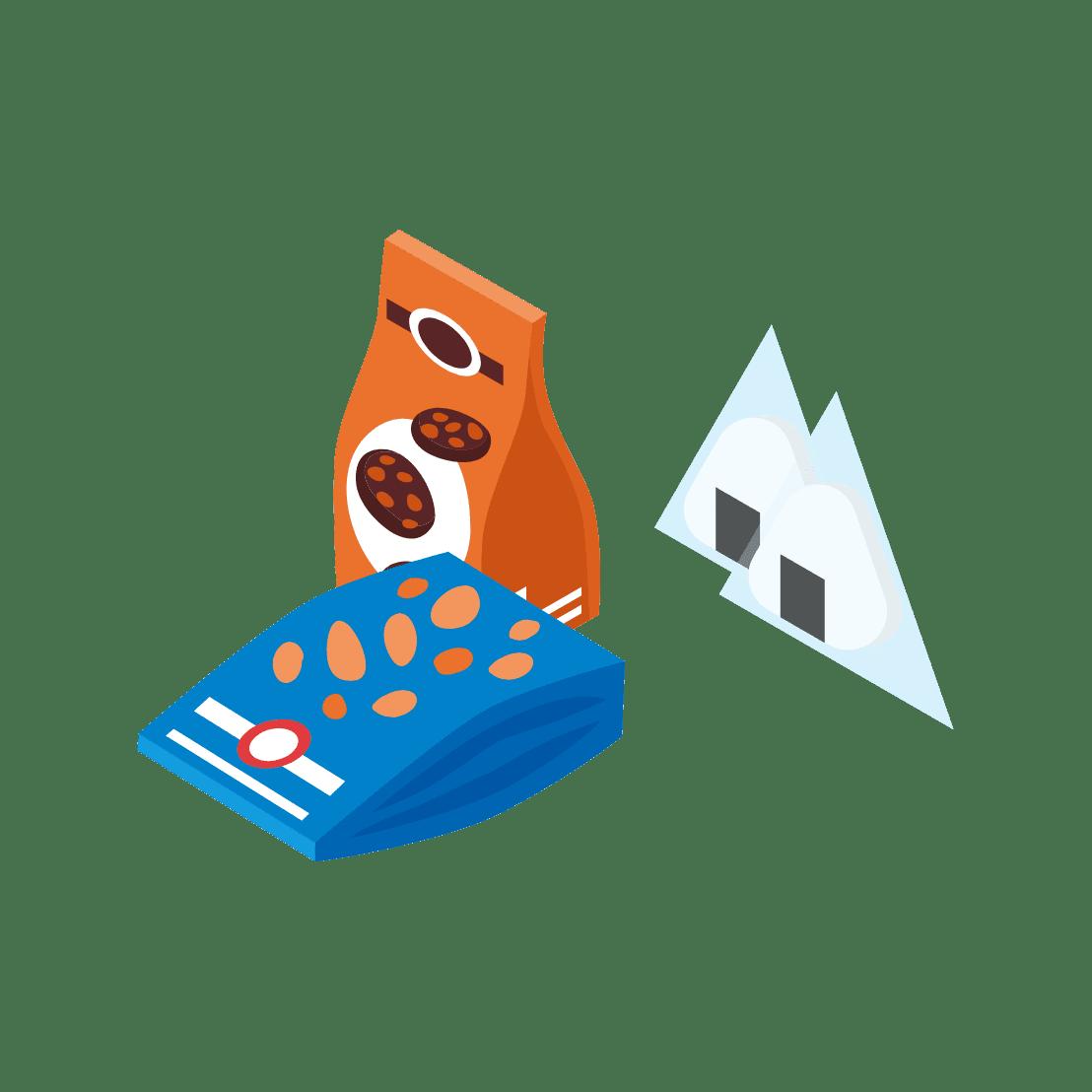 食品の包装材・<br /> パッケージ