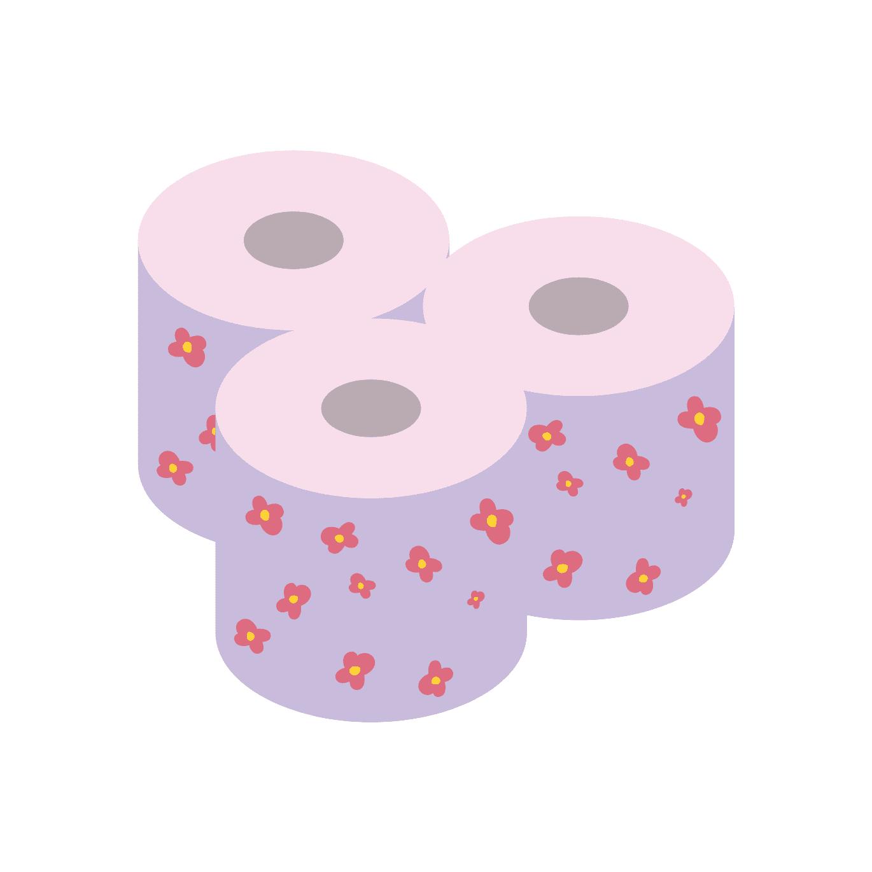 トイレットペーパーの包装材