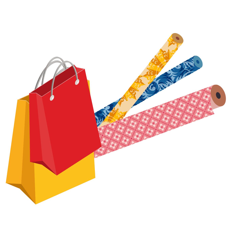 包装紙・紙袋